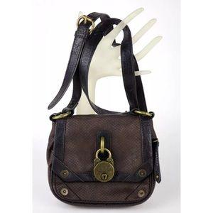 Nine West Vintage America Embossed Crossbody Bag